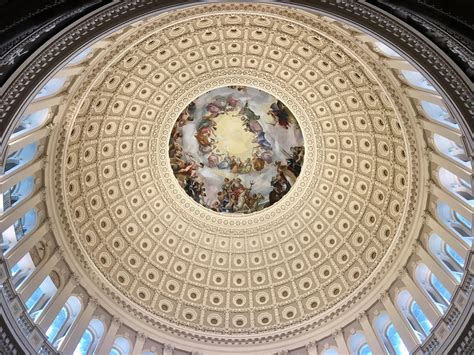 Inside The Incredible Dome Of The Capitol Building In
