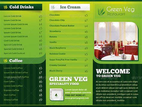 menu card templates ai psd docs pages