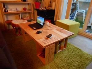 Table Basse Caisse Bois : cool voyez plutt with table basse caisse ~ Nature-et-papiers.com Idées de Décoration