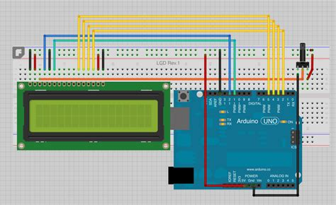 fritzing project lcd display pcb for arduino mounting arduino required