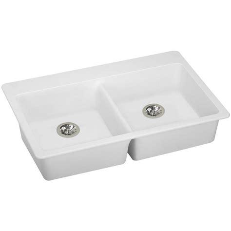 elkay kitchen sinks reviews elkay quartz classic drain drop in 33 in 7048