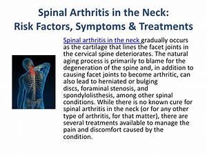Spinal Arthritis Neck