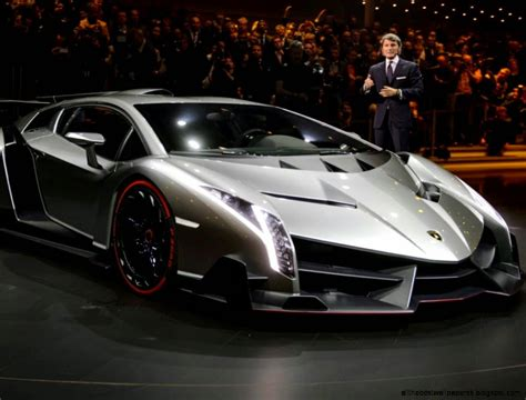 Worlds Most Expensive Car Lamborghini Veneno 39 Million