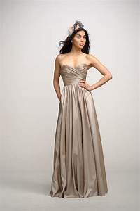 2012 bridesmaids dresses by watters bridesmaid gown With taupe wedding dress