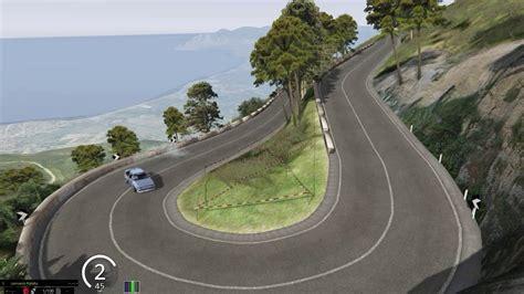 Assetto Corsa Monte Erice Test Uphill