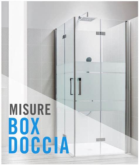 box doccia misure standard cabina doccia misure standard