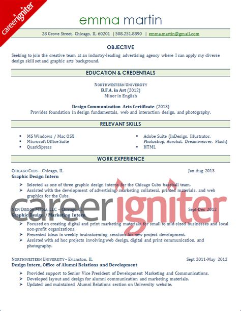 Graphic Design Resume Without Experience by 100 How To Write A Resume Without Work Experience How