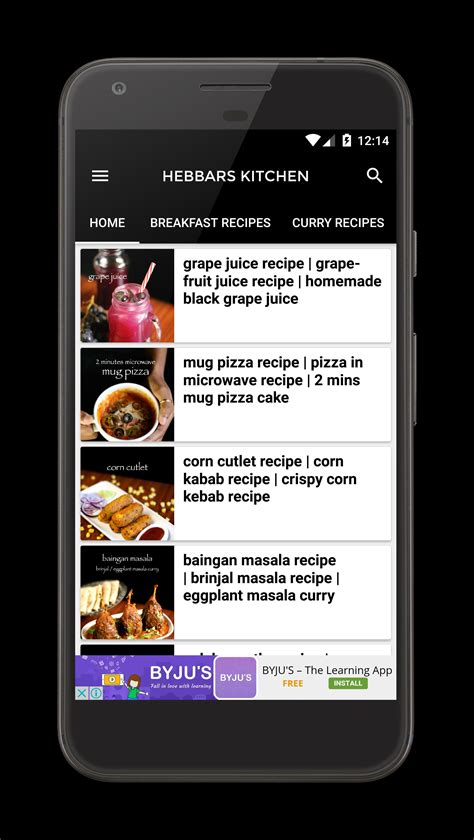 Kitchen Apk by Hebbars Kitchen For Android Apk