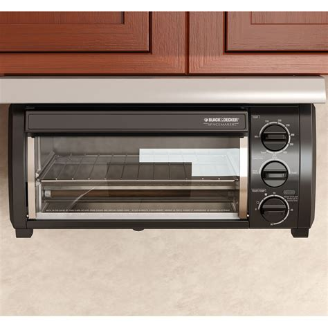 the cabinet toaster oven black decker tros1500b spacemaker the cabinet 4