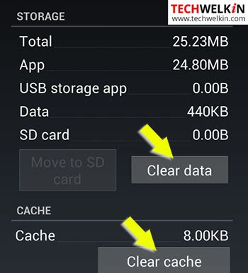 clear cache on android phone error code 495 fix the play problem