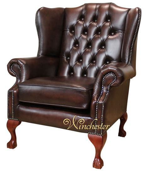Chesterfield Armchair Uk by Chesterfield Highclere Claw Wing Chair Uk