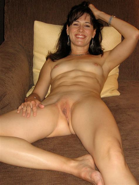 Home Porn  Brunette Milf Amateur Wife Nonny Nude And Spread For Us