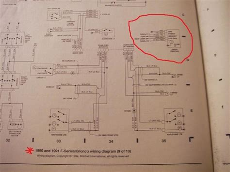 Radio Wire Diagram For 1992 F150 by Wiring Diagram For 1991 Ford F 150 Ford F150 Forum