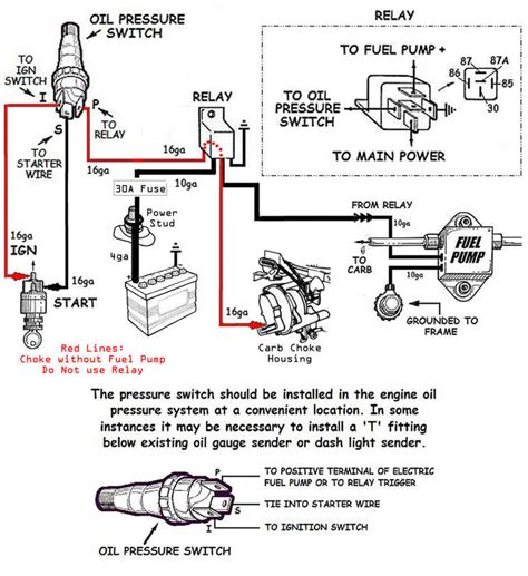 Electric Fuel Pump Choke