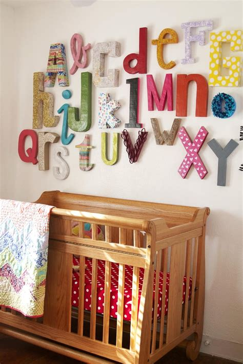 wall alphabet kid friendly crafts popsugar moms photo