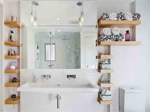 Etagere Rangement Salle De Bain : astuce rangement salle de bain en quelques id es utiles ~ Melissatoandfro.com Idées de Décoration