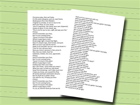 Freestyling Rap Rhyme Words Pictures To Pin On Pinterest