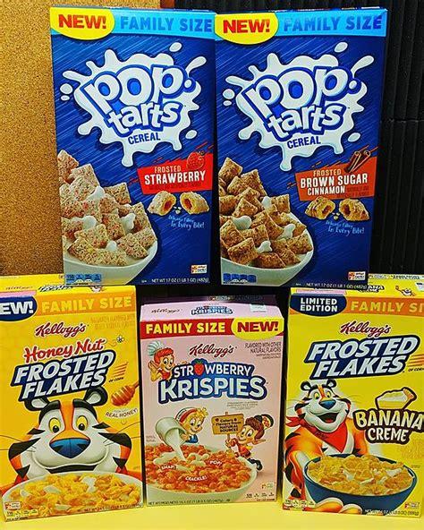 breakfast cereals  coming