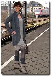 Kleid Mit Stiefeletten : outfit in grau graue stiefeletten kombinieren ~ Frokenaadalensverden.com Haus und Dekorationen