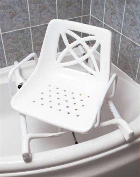 Bath Seats For Handicapped by Si 232 Ge De Bain Pivotant Pour Baignoire D Angle Si 232 Ge De