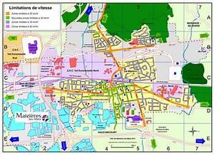 Plan De Metz : limitation de vitesse plan de la ville la ville ~ Farleysfitness.com Idées de Décoration