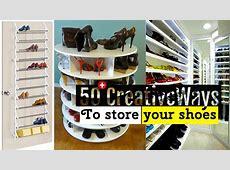 50+ Creative Shoe storage ideas YouTube