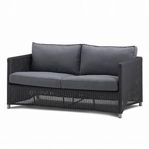 2 Sitzer Sofa : diamond 2 sitzer sofa geflecht wohnkultur cane line ~ Indierocktalk.com Haus und Dekorationen