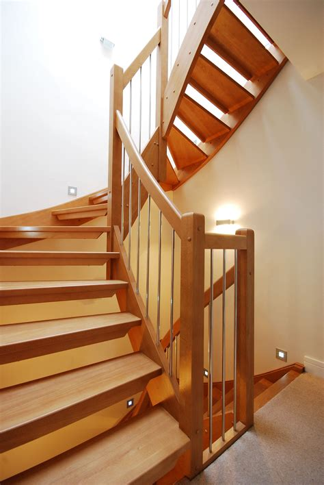 staircase railings designs bespoke wooden stair timber stair