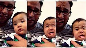 Adorable Baby's Priceless Reaction to Dad Crying - Gwyl.io