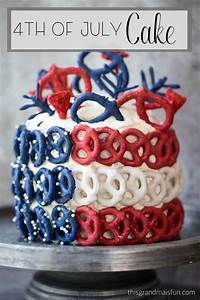 4th of july cake tgif this is