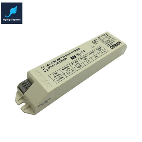 220 240v ac 2x36w wide voltage t8 electronic ballast