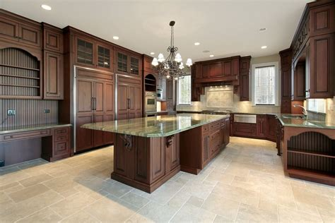 kitchen floor ideas with dark cabinets 43 quot new and spacious quot darker wood kitchen designs layouts