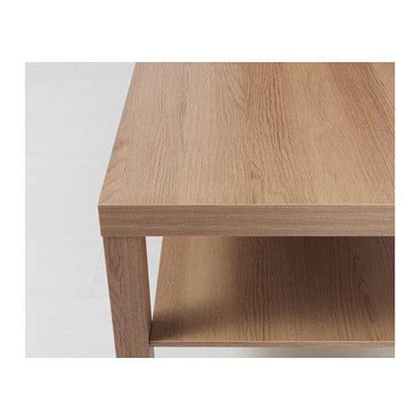 Helps you keep your things organized and the table top clear. LACK Coffee table Oak effect IKEA   Lack coffee table, Ikea lack coffee table, Ikea coffee table