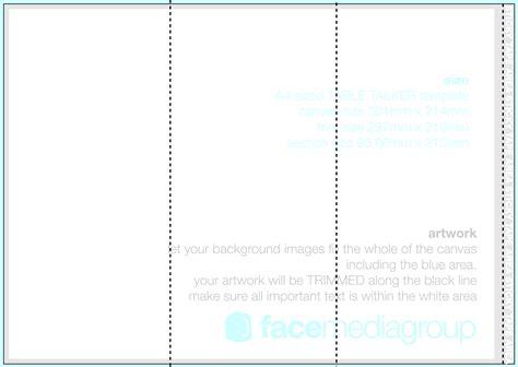 free microsoft word brochure templates tri fold blank tri fold brochure template cyberuse