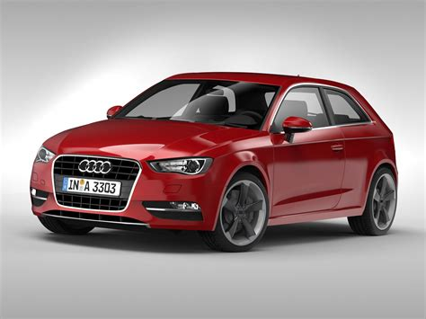 Smith now there is alexa, where once we had dvd rentals now. 3D model Audi A3 2013 | CGTrader