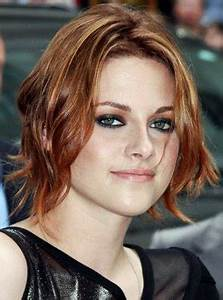 Kristen Stewart Debuts Red Hot Hair at Letterman and NYC ...