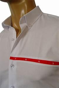 Free Tee Shirt Design Mens Designer Clothes Prada Mens Dress Shirt 69
