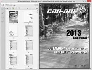Can-am Outlander  Renegade  2013  Service Manual