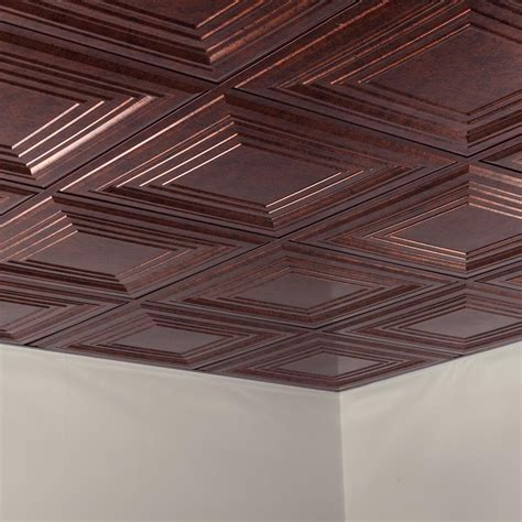 Fasade Ceiling Tile2x2 Suspendedtraditional 3 In