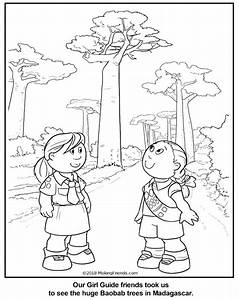 Malagasy Guide Coloring Page For Madagascar