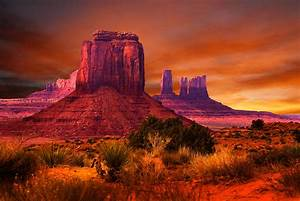 Monument Valley Sunset Photograph by Harry Spitz