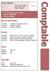 modèle de cv secrétaire comptable cv comptable