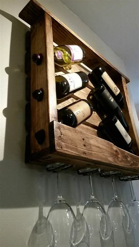 build a rack wine rack himself build and properly the wine