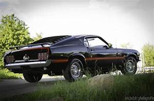 Ford Mustang Cobra Jet 428 Baujahr 1969 in schwarz | NR Classic Car Collection Stuttgart