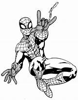 Coloring Superhero Colouring Pages Printable Spiderman Spider Marvel Superheroes Drawing Comic Cliparts Template Face Sheets Avengers Outline Clipart Info Books sketch template