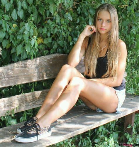 Long Hair Teen In Shorts Nn Honey