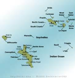 Seychelles Map - Map of Seychelles Islands Seychelles