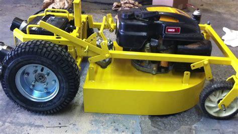 rc lawn mower youtube