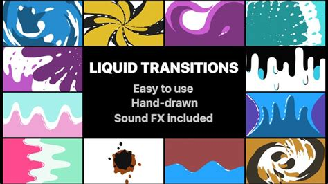 Cool Transitions After Effects Templates by Liquid Motion Transitions Pack After Effects Templates