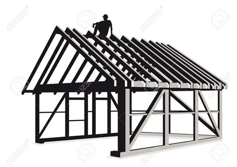 home construction clipart black and white wooden construction clipart clipground
